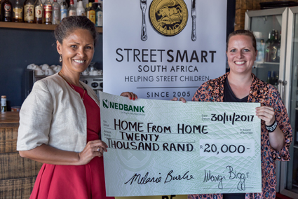 Plett Melanie Burke StreetSmart SA and Elisabeth Wenz Home from Home Bitou Family Care lr