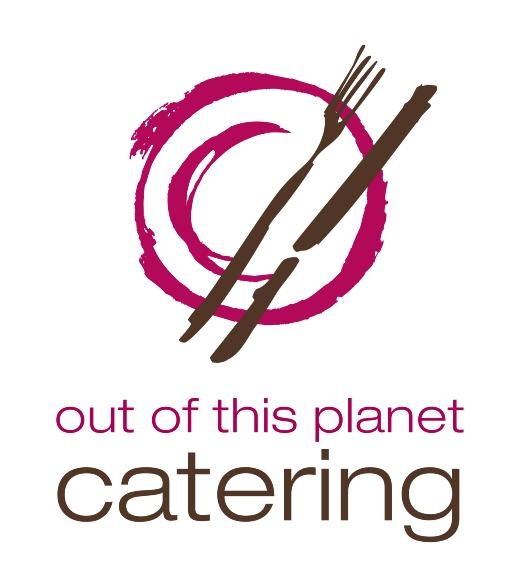 Out of Planet Catering Logo