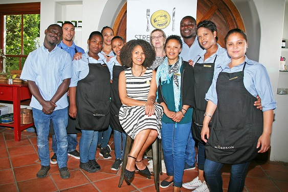 Bread Wines Restaurant Team with Melanie Burke StreetSmart SA