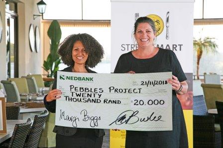 Melanie Burke StreetSmart SA and Sophia Warner Pebbles Project WP