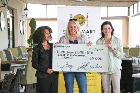 l.t.r. Melanie Burke StreetSmart SA Pippa Shaper and Margaret Scharein Home from Home WP