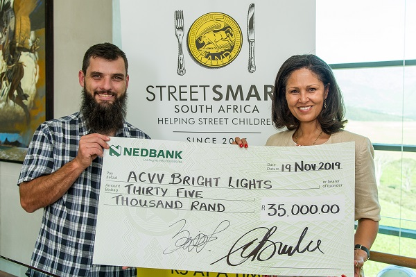 Andre Putter ACVV Bright Lights and Melanie Burke StreetSmart SA